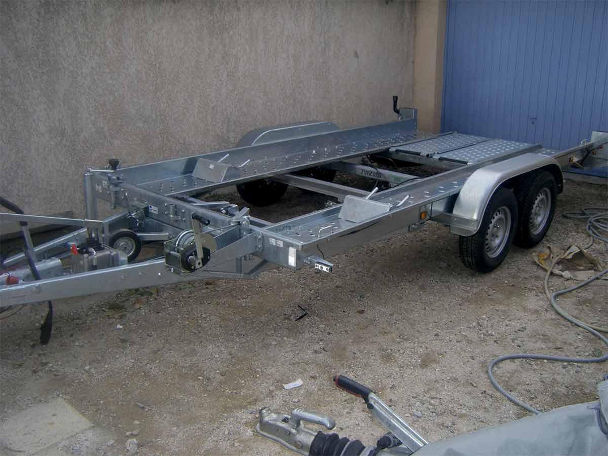 FM LOCATION REMORQUE : Remorque porte voiture 2500kg