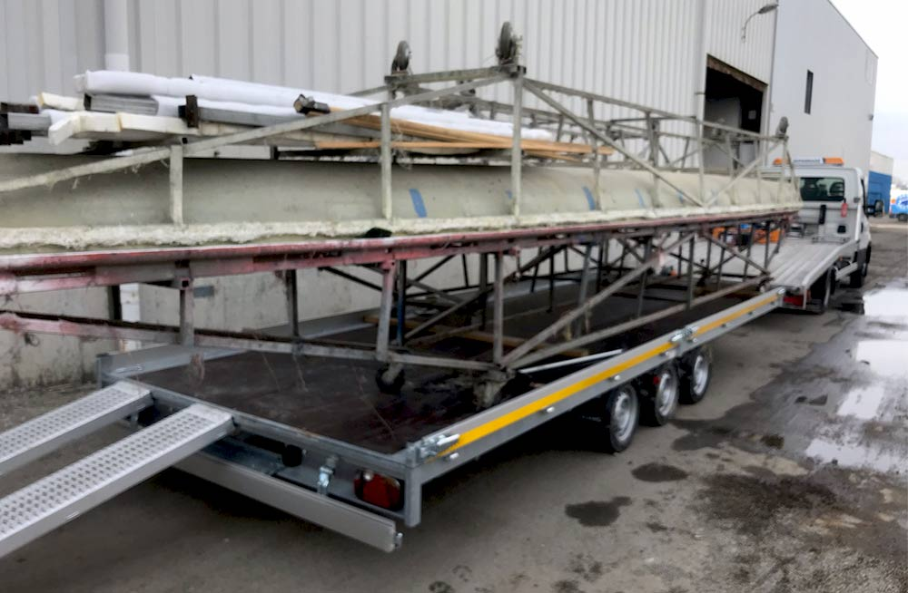 FM LOCATION REMORQUE :Remorque 3500kg